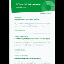 Tips & Advies Ondernemer