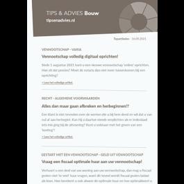 Tips & Advies Bouw