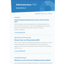 Tips & Advies Pro Administrateur